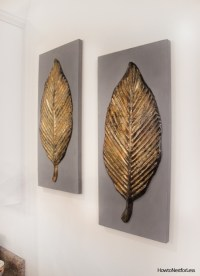 Goodwill Find: Gold Leaf Wall Art - How to Nest for Less