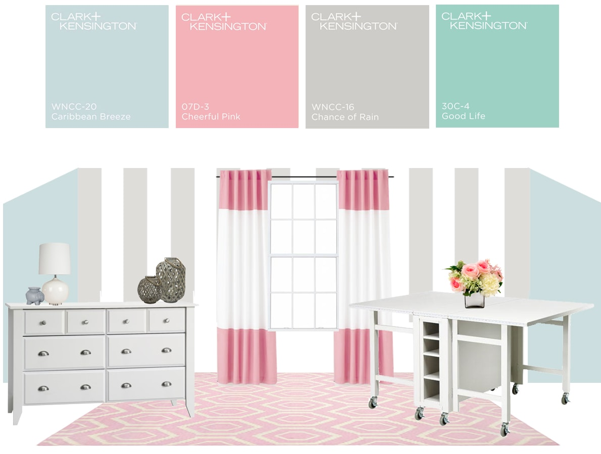 Paint Colors That Flow From Room To Room Craft Room Color How To Nest For Less