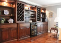 Living Room Wine Cabinet Built Ins - How to Nest for Less