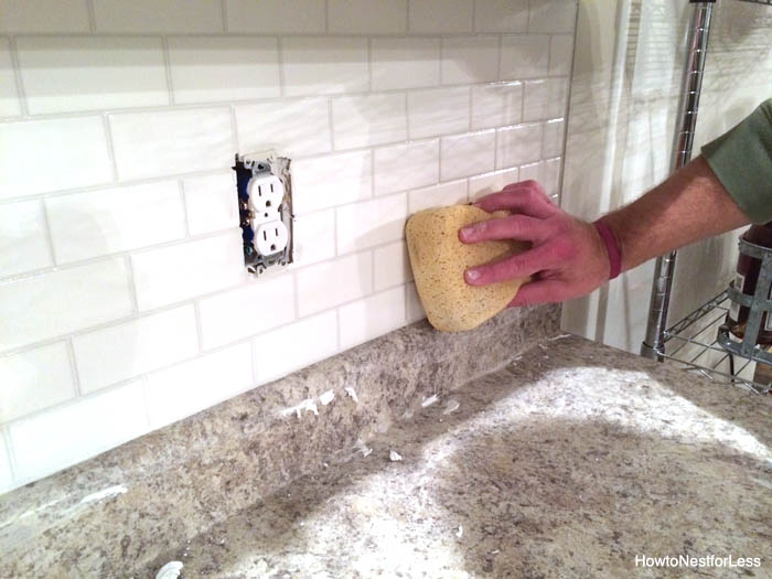 Wallpaper Falling Off Wall How To Install A Kitchen Backsplash The Best And Easiest