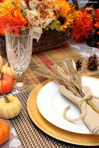 Thanksgiving Table Setting Ideas - Thanksgiving Place Settings