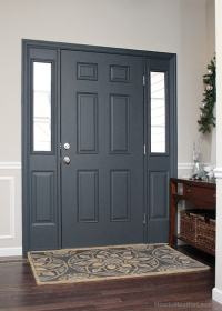 Painted Interior Front Door + GIVEAWAY
