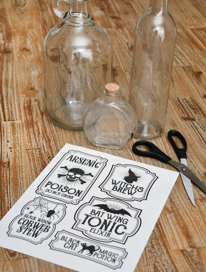 photograph regarding Free Printable Halloween Poison Bottle Labels called Halloween Poison Labels Grunge Printable Decor Decoration