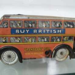 Bus in Museo del Juguete, Trujillo