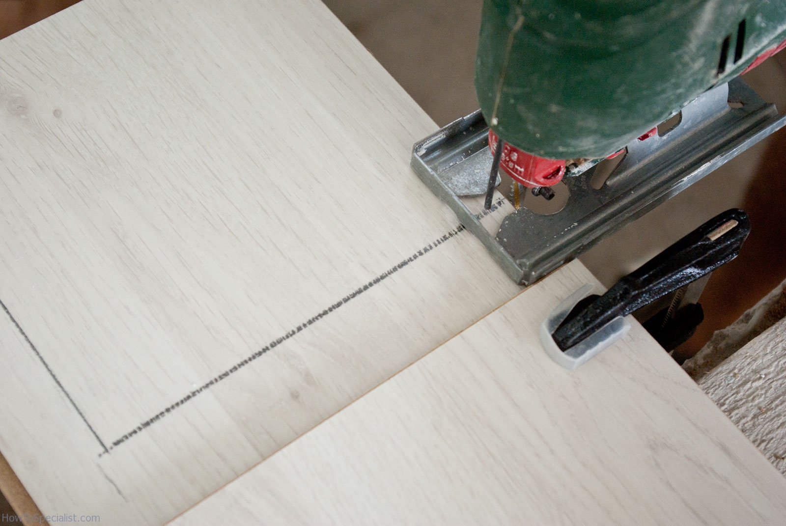 How To Cut A Formica Countertop How To Cut A Hole In Laminate Countertop Howtospecialist