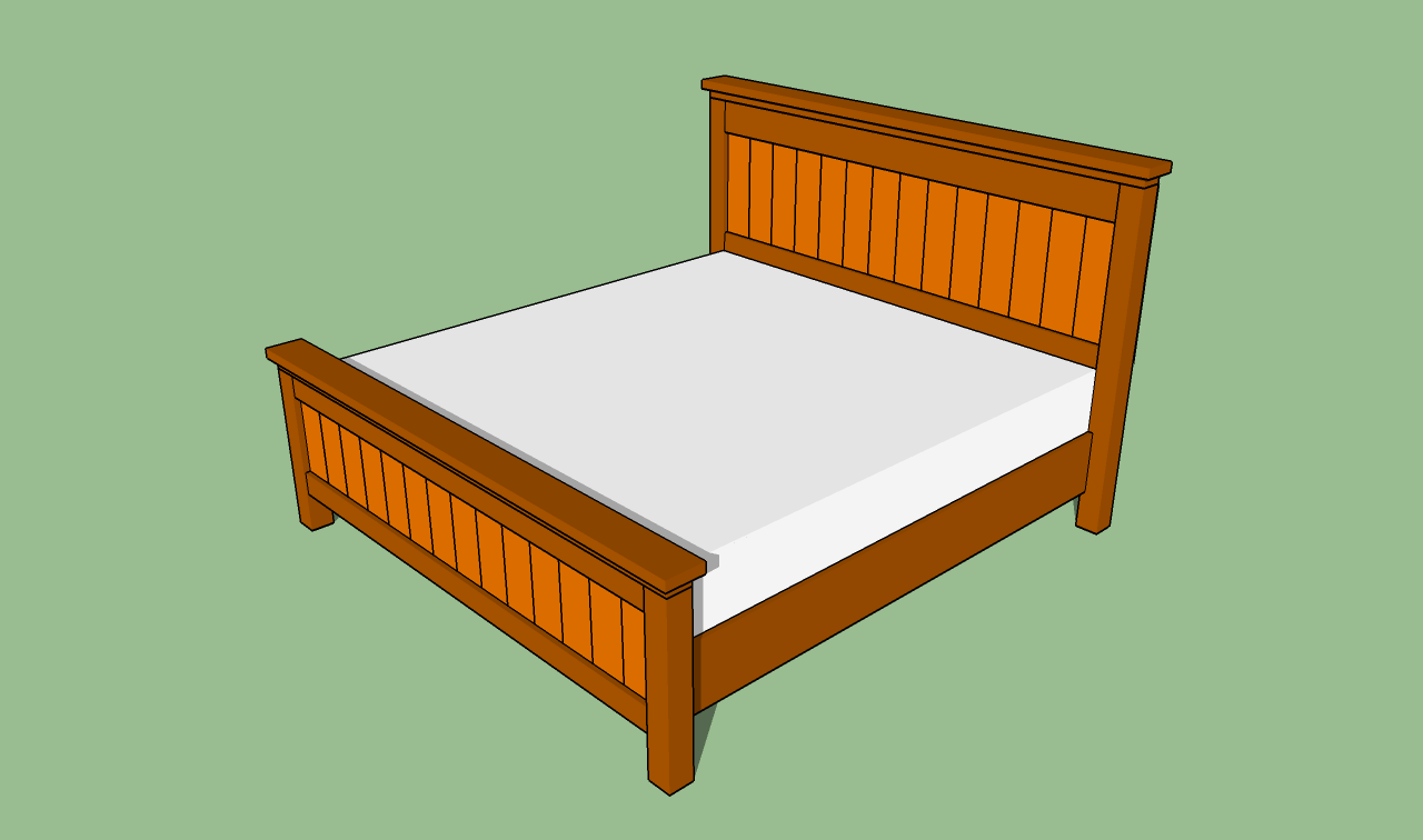 King Bed Frame Design How To Build A King Size Bed Frame Howtospecialist How To