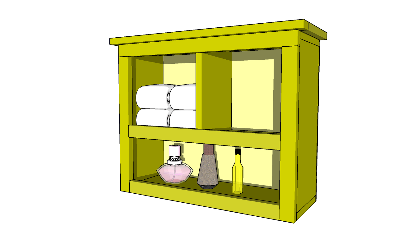 How To Build Bathroom Shelves Howtospecialist How To