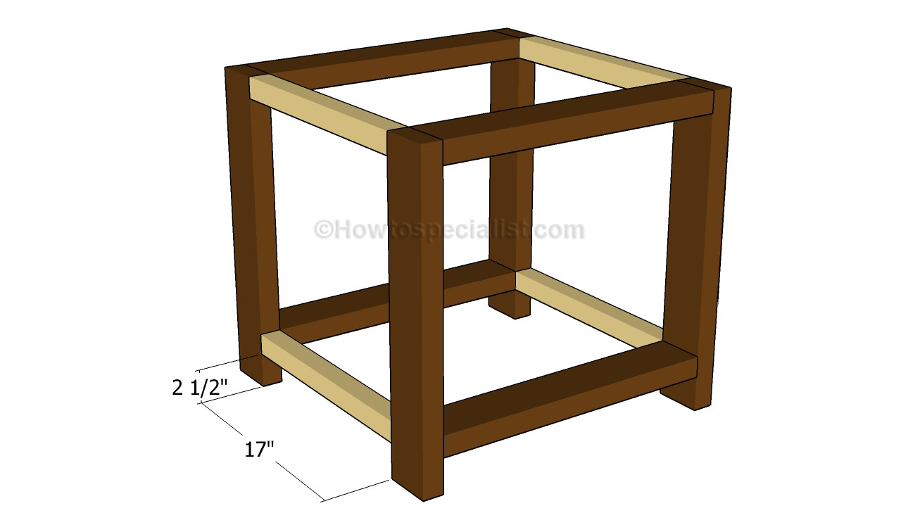 Building An End Table End Table Plans Howtospecialist How To Build Step By Step Diy