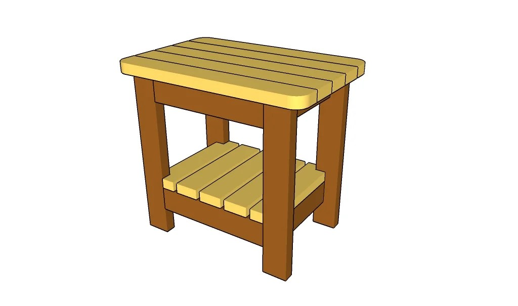 22 Cool Woodworking Side Table Egorlincom
