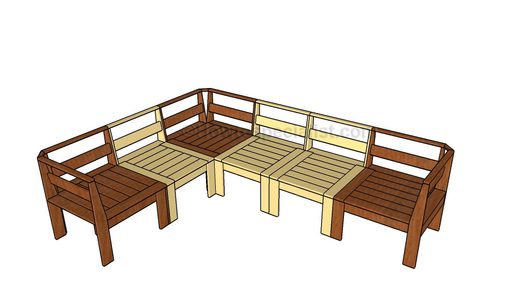 Patio Sectional Plans Outdoor Sectional Plans | Howtospecialist - How To Build
