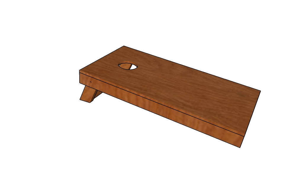 cornhole game plans howtospecialist how to build step by step diy