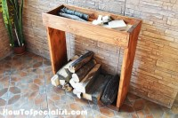 How To Build an Indoor Firewood Rack | HowToSpecialist ...
