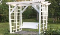 DIY Stylish Arbor Swing | HowToSpecialist - How to Build ...