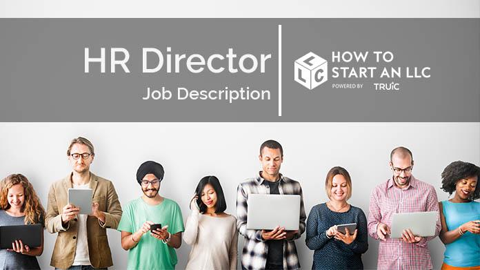 HR Director Job Description How to Start an LLC