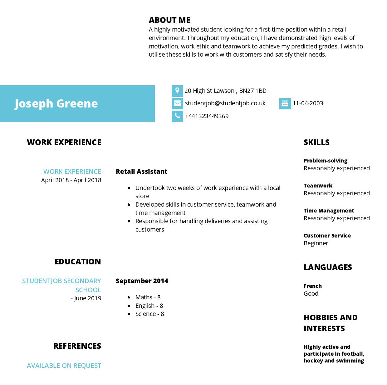 sample things to include in a social work resume
