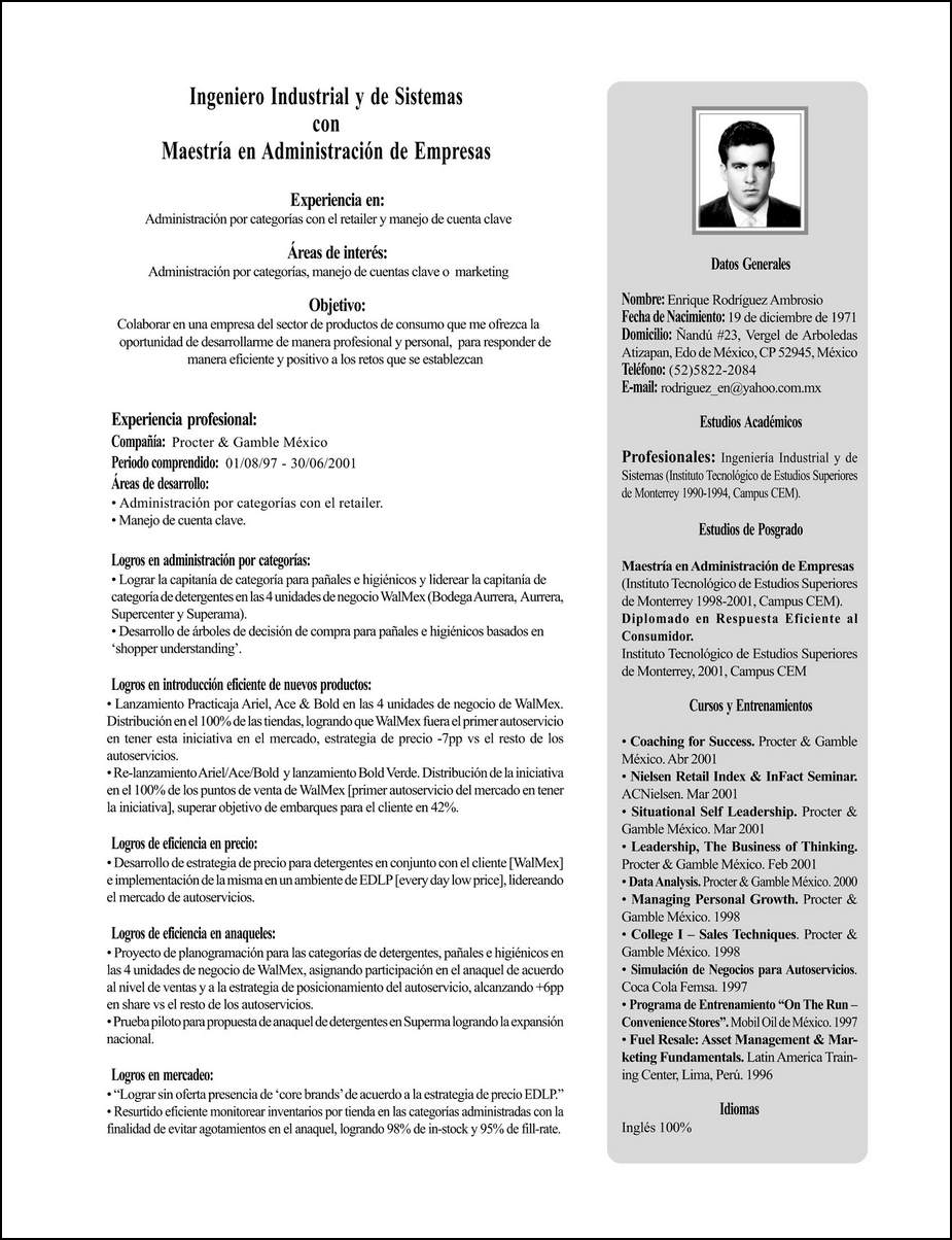 how to write a cv resume 05052017