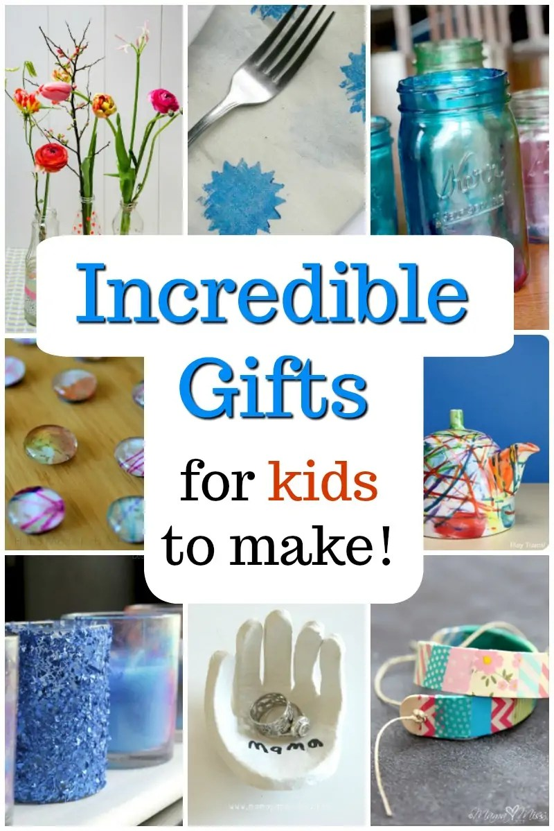 Christmas Homemade Gifts 45 Gorgeous Gifts Kids Can Make How Wee Learn