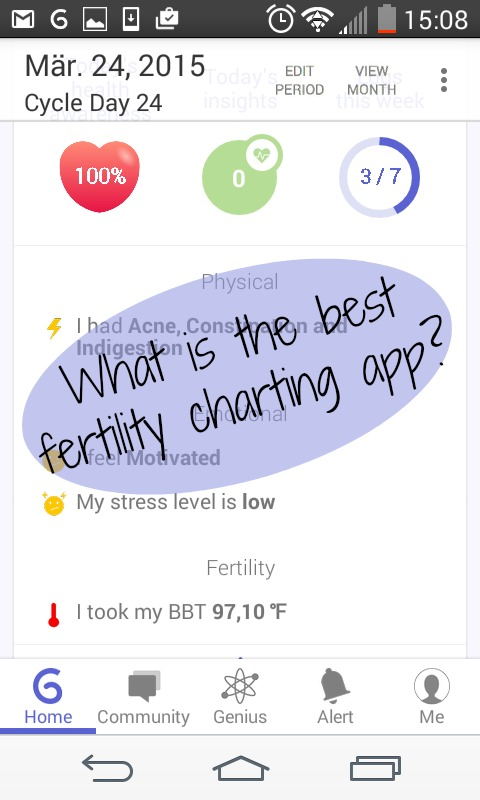 Best Fertility App - A Review of 10 Free Charting Apps How We Flourish