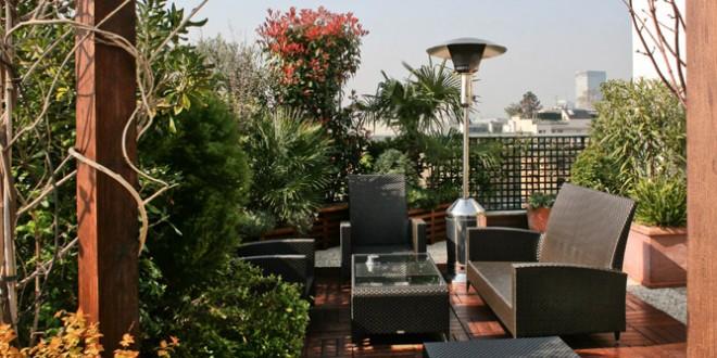 decoracion terrazas modernas con plantas Hoy LowCost - Decoracion De Terrazas Con Plantas
