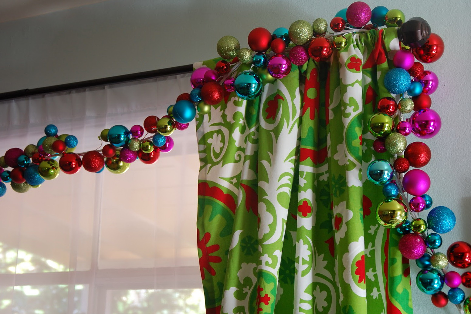 Cortinas Salon 2016 Ideas Para Decorar Cortinas En Navidad 2016
