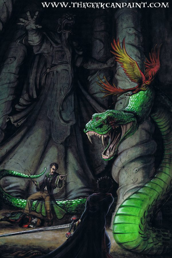 Libros Dungeons And Dragons Chamber Of Secrets – The Harry Potter Lexicon