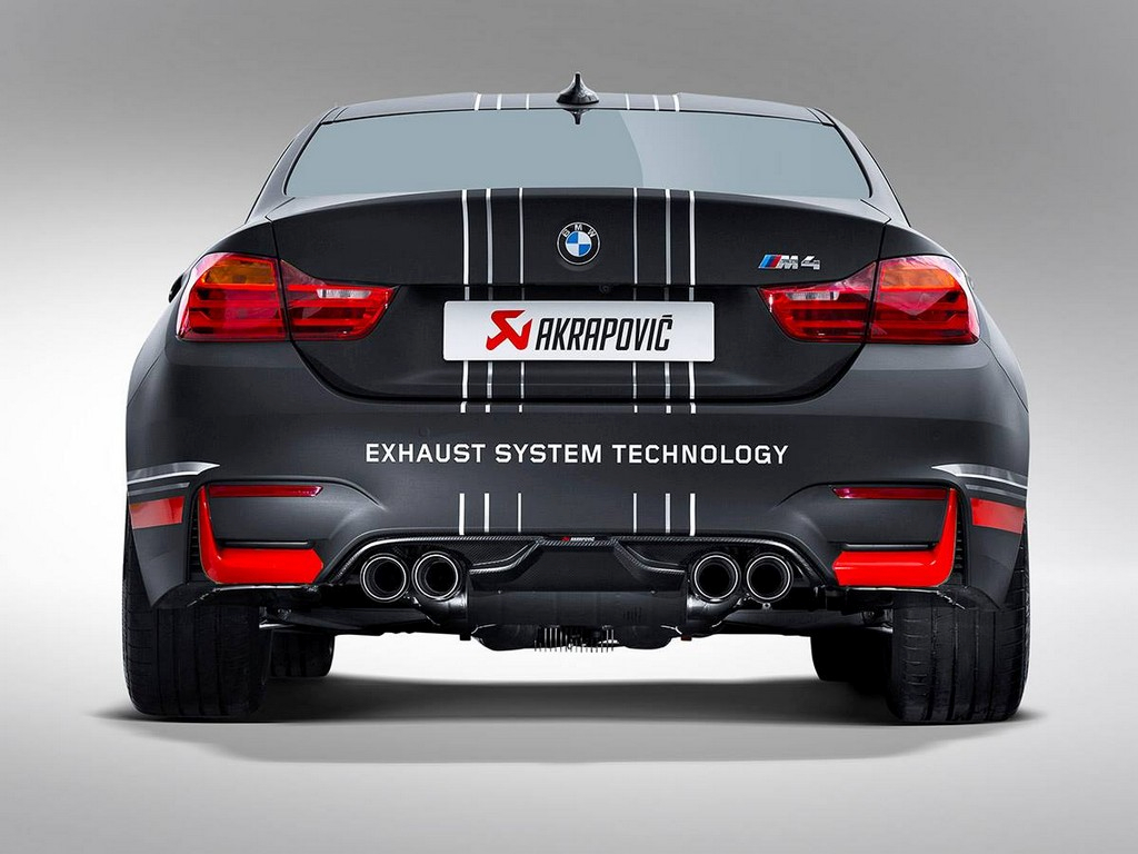 M4 Performance Exhaust Akrapovic F82 M4 Slip On Exhaust System