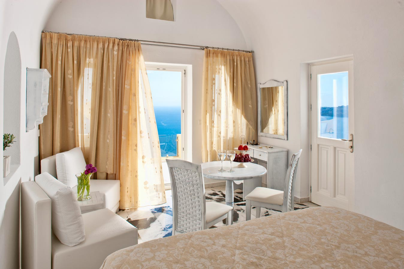 Chambre D Hote Santorin Santorini Princess Spa Hotel Official Booking Engine