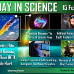 Today in Science 15 Feb, 2013 by Hashem AL-ghaili