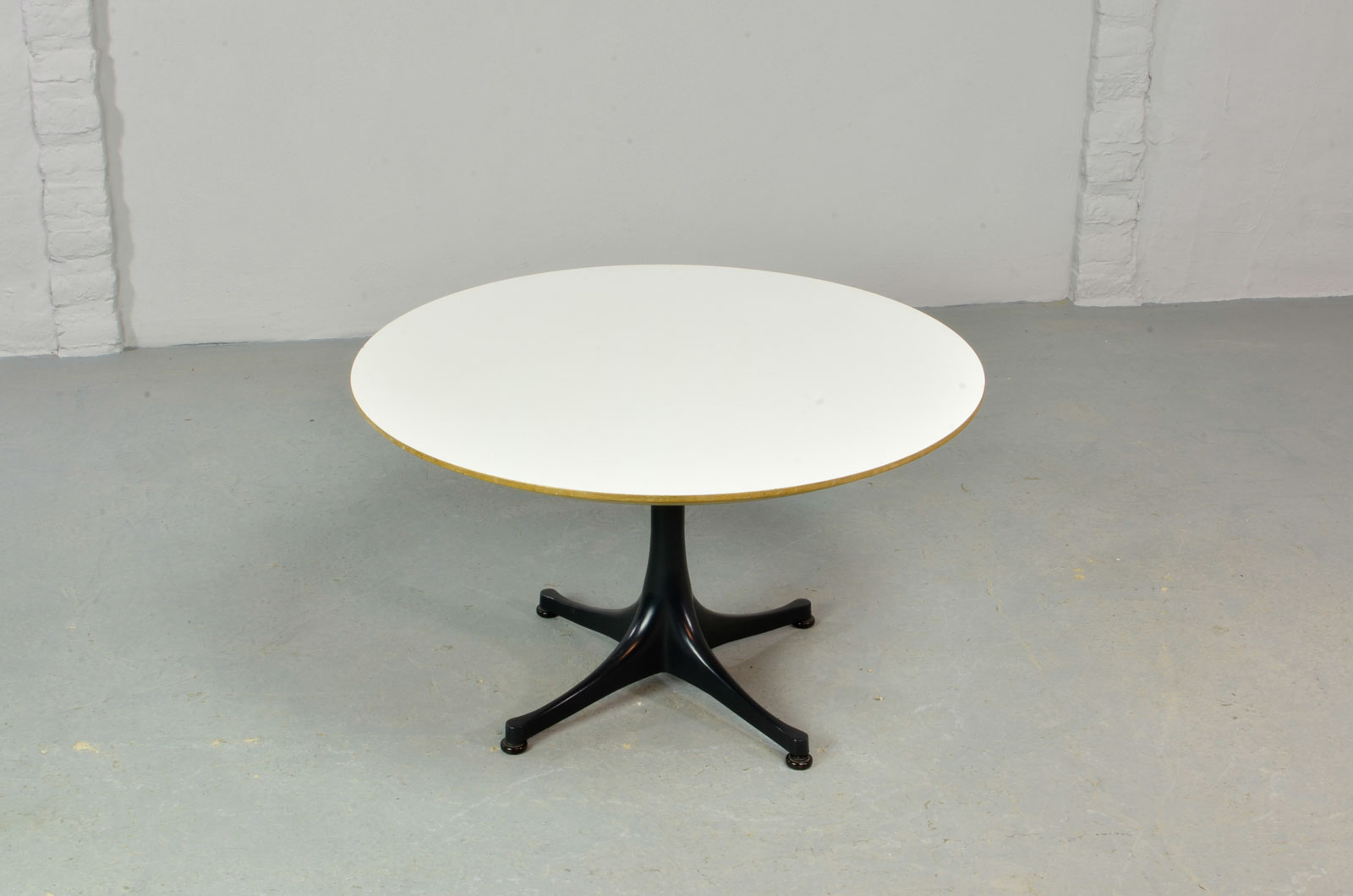 Mid Century Black Coffee Table Mid Century Round Black And White Coffee Table Designed By
