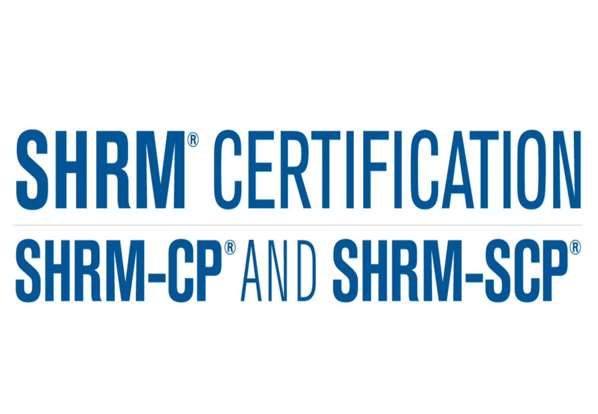 Certification Hr Example Shrm Hr Certification Billigmax
