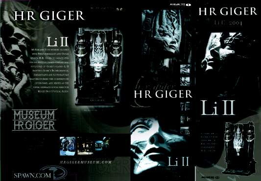 Li S To The Official Website Of H.r.giger - Sculptures