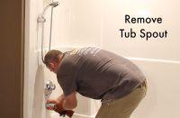 How to Remove a Fiberglass Bathtub and Surround | Home ...