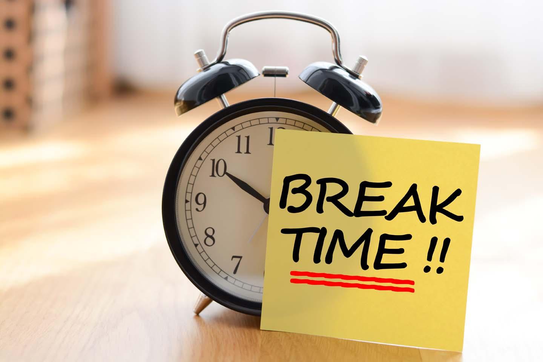 times breaks