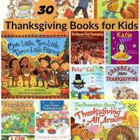 30 Thanksgiving Books for Kids