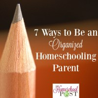 How to Be an Organized Homeschooling Parent
