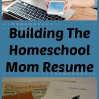 Building The Homeschool Mom Resume