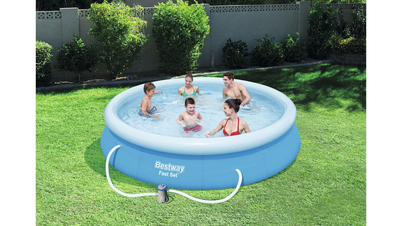 Filterpumpe Pool Entleeren Swimming Pool Von Bestway