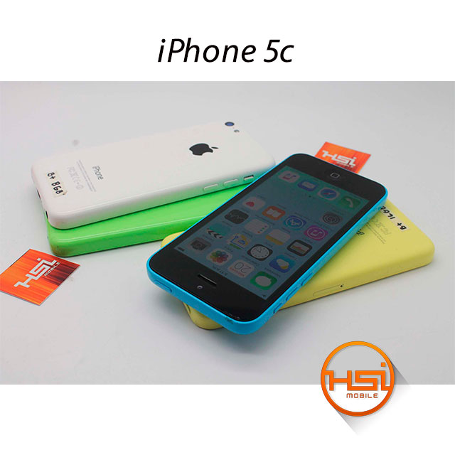 Iphone 5c 16gb Libre Iphone 5c 16gb B+ 4g Lte Usado - Hsi Mobile