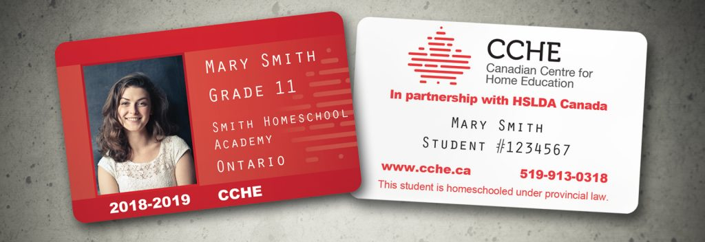 Student and Teacher Photo ID Cards - HSLDA - Home School Legal