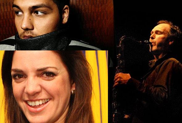 Alejandro Fuentes, Cornelia Børnick og Bendik Hofseth, med orkester, er blant underholderne på HSMAIs prisfest 10. januar 2013.