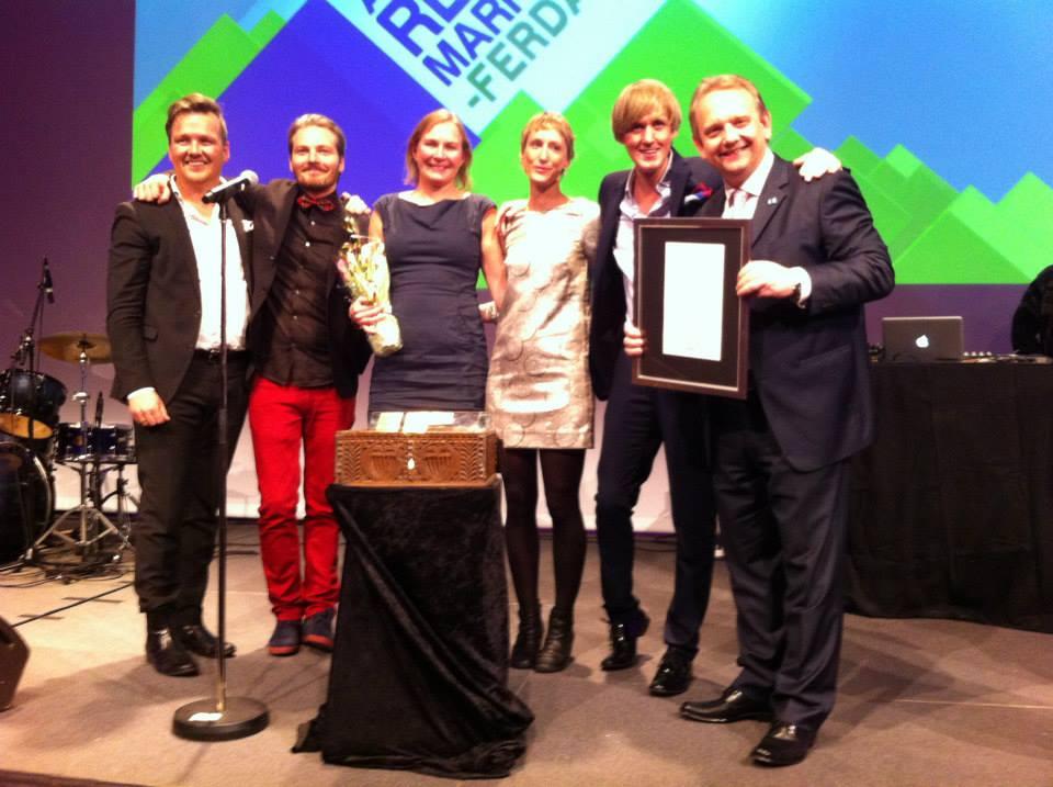 Fjord Norge Årets reiselivsmarkedsfører 2013