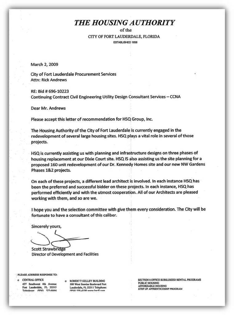 rental reference letter template - housing reference letter