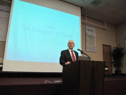 Dr. Allen Black speaks at Convocation August 25, 2014