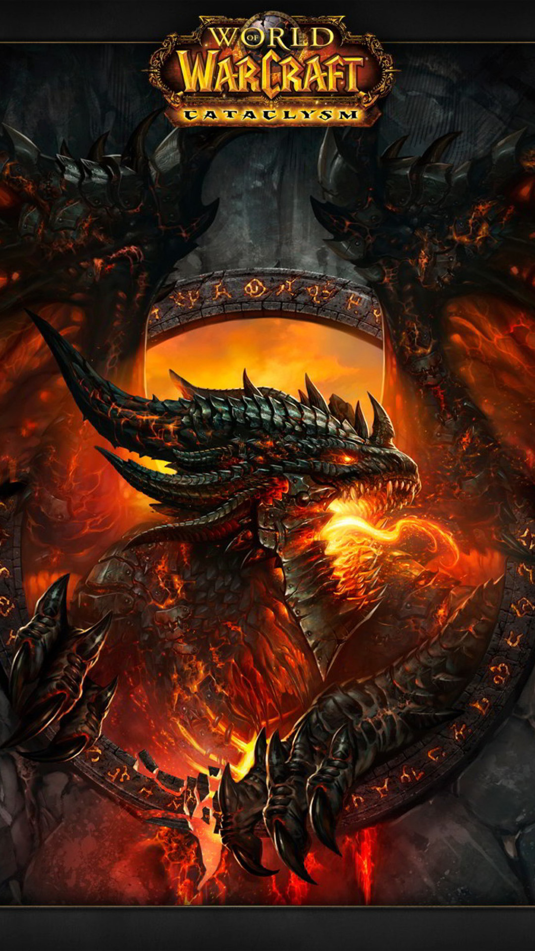 3d Wallpaper For Htc M8 Dragon World Of Warcraft Cataclysm Best Htc One Wallpapers