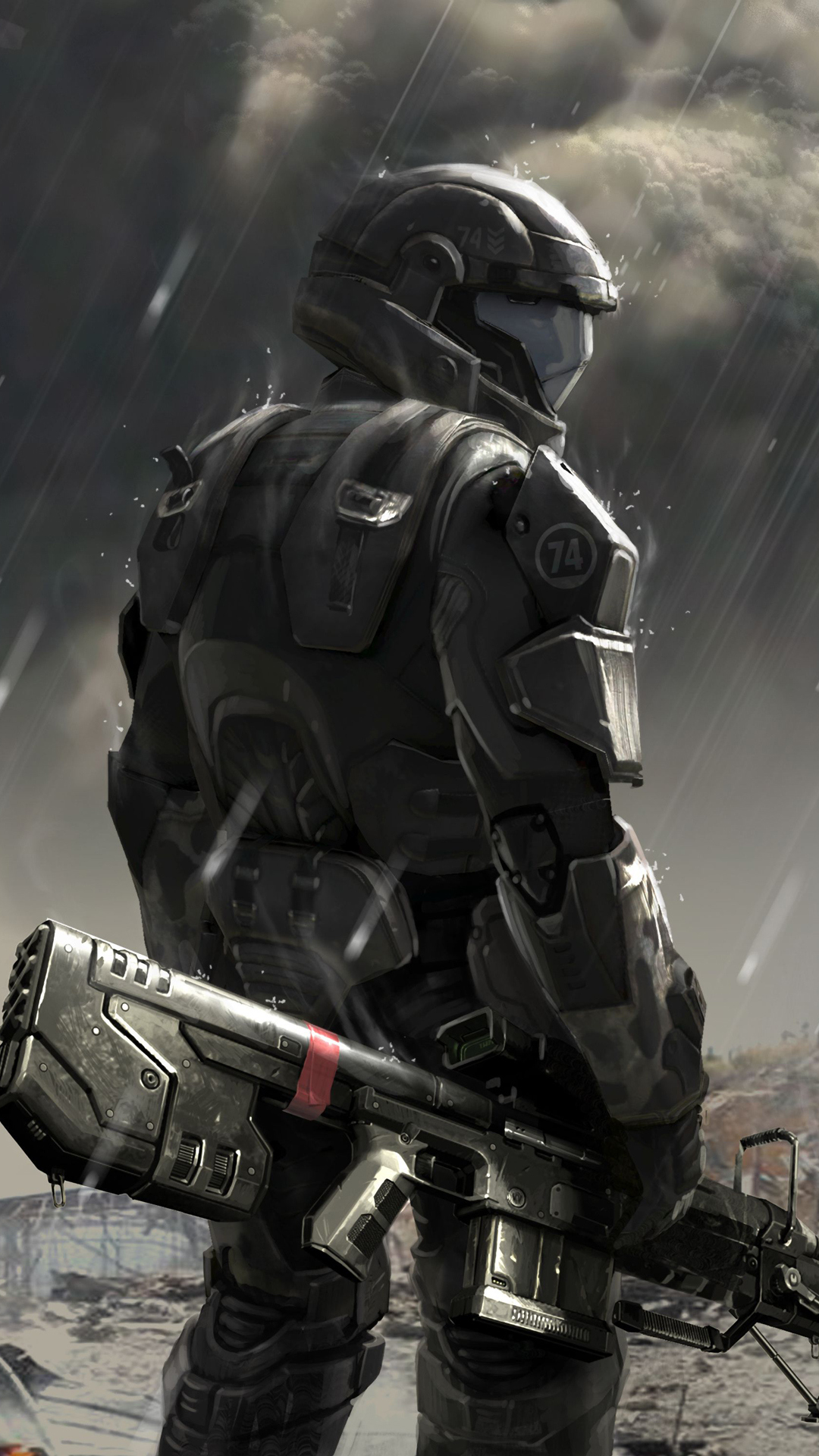 Clear Wallpaper Iphone X Soldier Concept Halo 4 Best Htc One Wallpapers