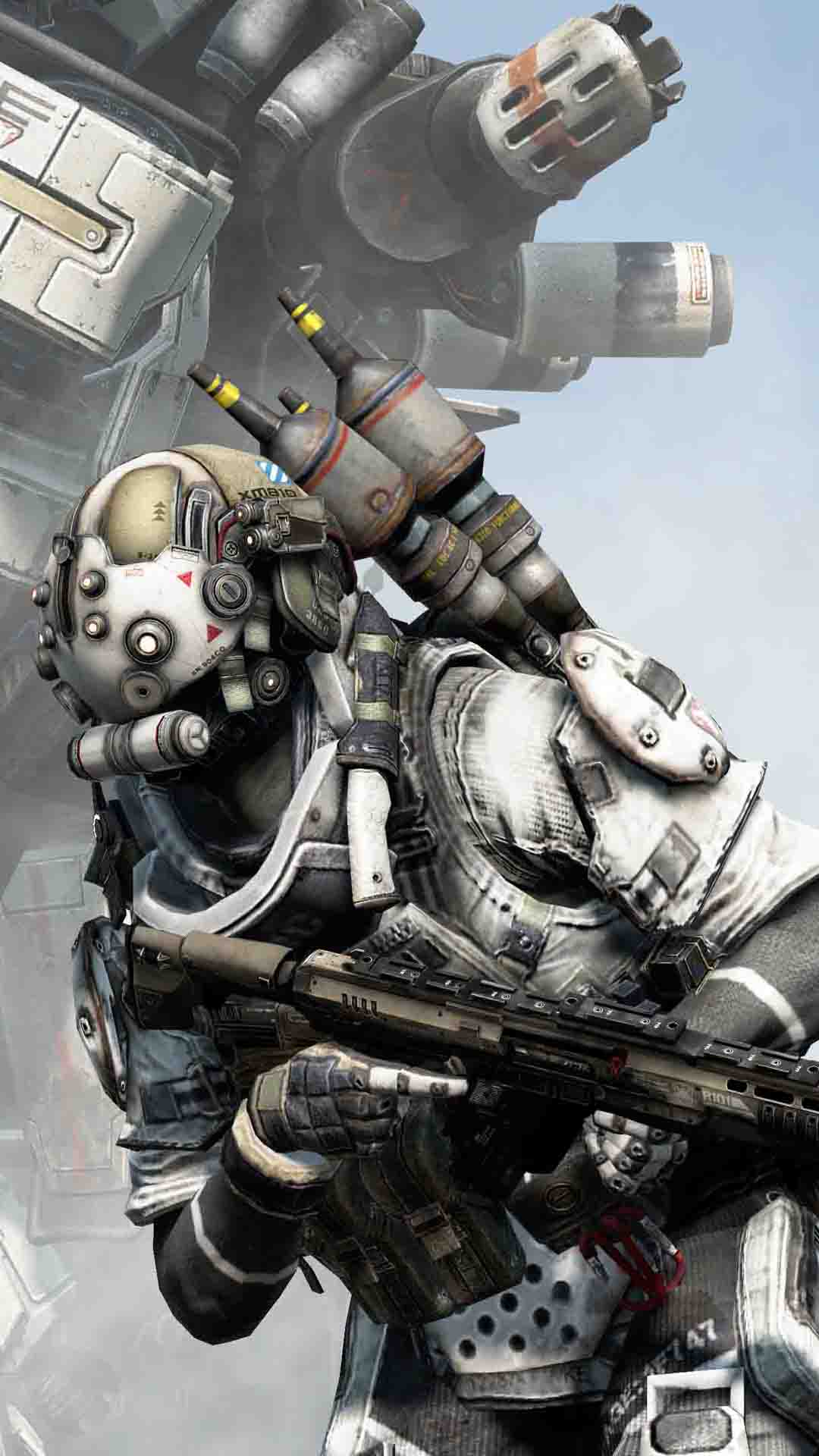 The Fall Tv Series Wallpaper Titanfall Soldier Best Htc One Wallpapers Free And Easy