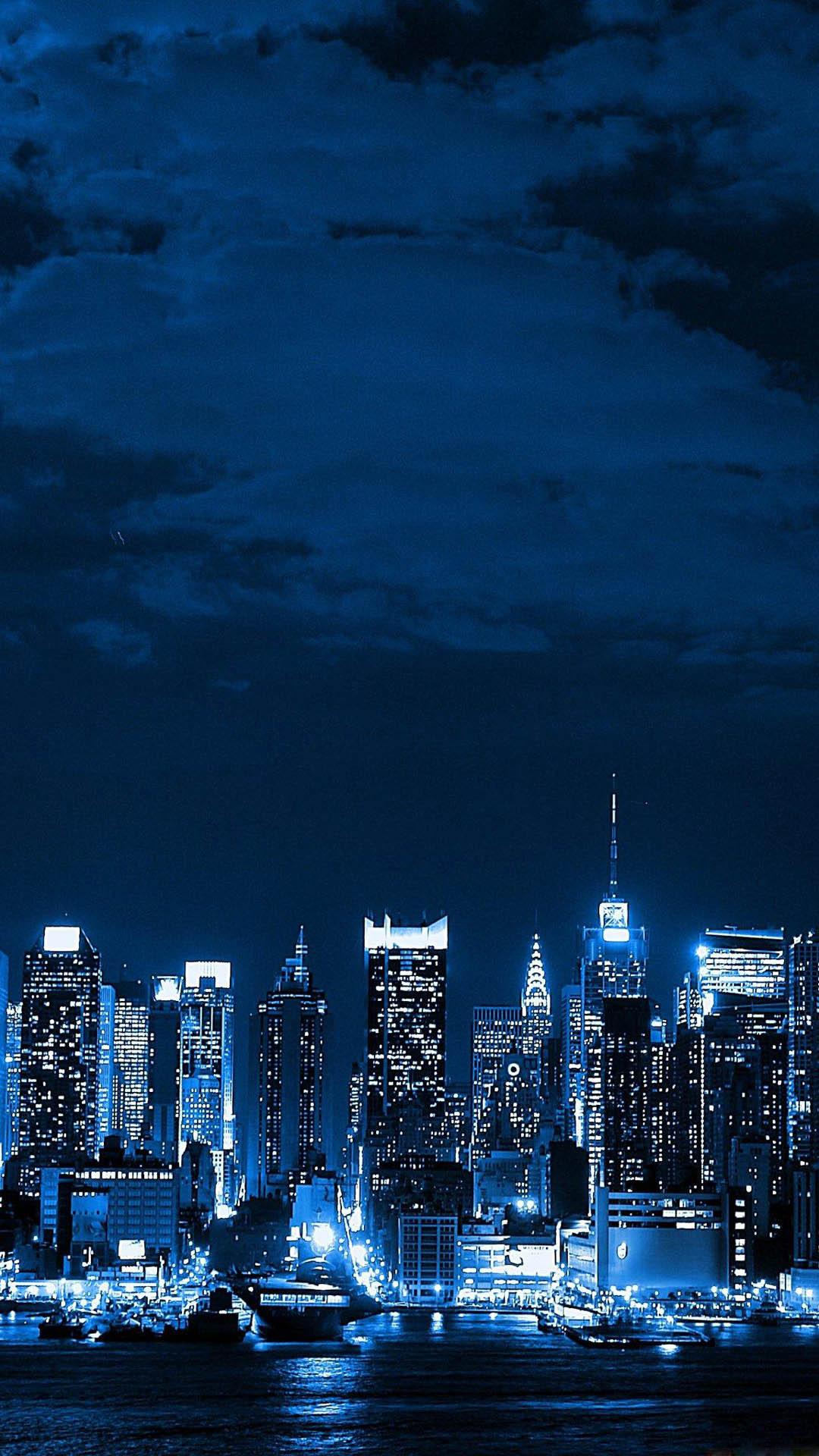 Breaking Bad Wallpaper Iphone X Metropolis Big City Night Skyline Best Htc One Wallpapers