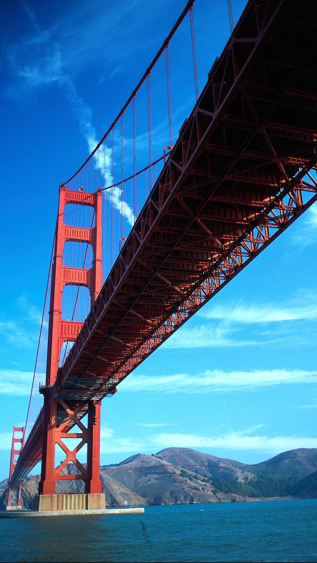 Htc One M8 Wallpaper Hd Golden Gate Bridge World Best Htc One Wallpapers