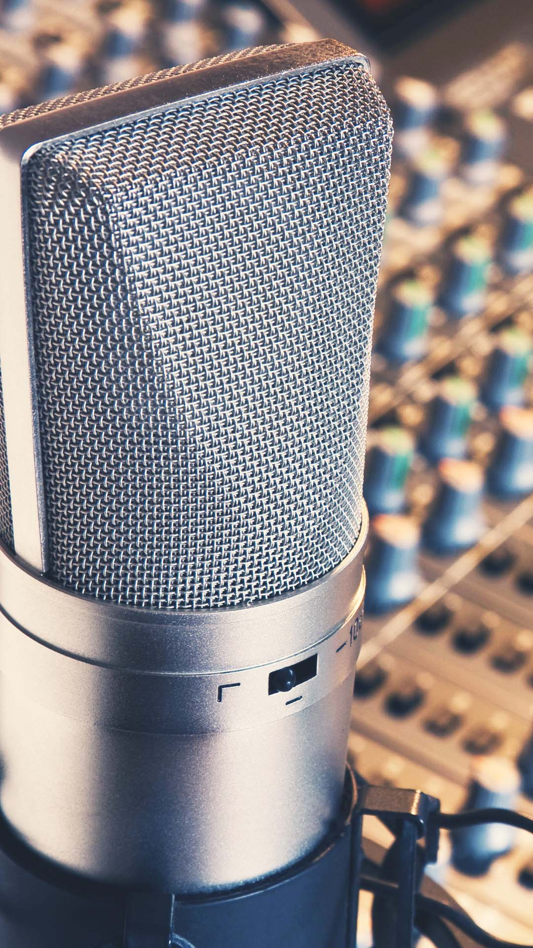 Htc One M8 Wallpaper Hd Studio Microphone Htc One Wallpaper