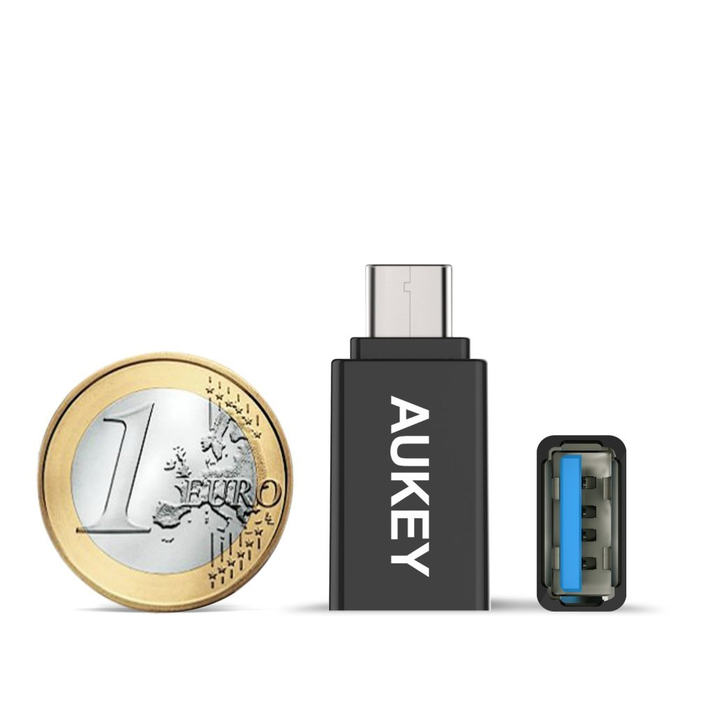 aukey / USB A to C 3.0 変換コネクタ